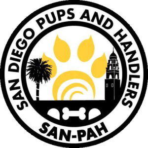San Diego Pups and Handlers